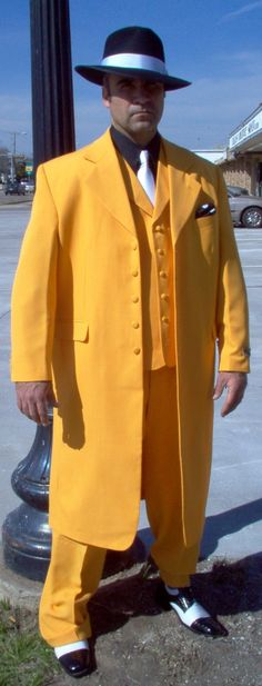 1930's Dick Tracy Costume, 1930s Detective Costumes, 1930s Suits & Zoot Suits, 1930s Period Attire, 1930s Theatrical