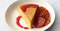 This recipe by Jamie Oliver, as seen on his Channel 4 series, Quick & Easy Food, makes a delicious gluten- free polenta cake with a vibrant orange flavour.