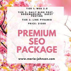 Premium SEO Package 2020 Seo Packages, Writing Services, Search Engine Optimization, Packaging, Blog, Blogging, Wrapping