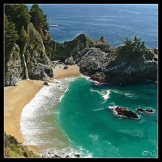 Julia Pfeiffer Burns State Park in California