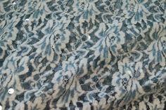 Ptx16/17 960070-94 Kant-achtig met velours en paillette aqua