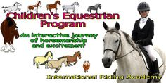 LEARN ABOUT HORSES AND HORSE CARE  Much like Pony Club and 4-H  PERFECT FOR RIDING CLUBS / AFTER SCHOOL PROGRAMS  CAN BE FOR HOME-SCHOOLING PARENTS LEARN TOO!  A HORSE IS NOT NEEDED (but beneficial) By the GRADE LEVEL ORGANIZED LESSONS HANDS-0N ACTIVITIES COMPREHENSION QUIZZES   INTERACTIVE BONUSES UPON REGISTRATION  CHALLENGING QUESTS
