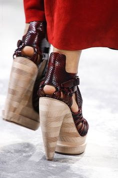 spring 2014 ready-to-wear: the shoes at proenza schouler
