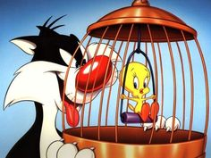 Cartoons - Sylvester and Tweetie Bird