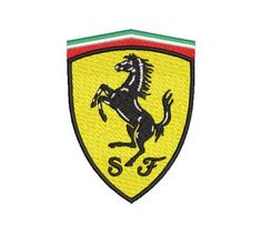 Descarga 100 000 diseños para bordado gratis - Bordados Gratis Ferrari Logo, Minnie, Logos, Art, Embroidery Designs Free, Embroidered Flowers, Sew, Animales, Beauty