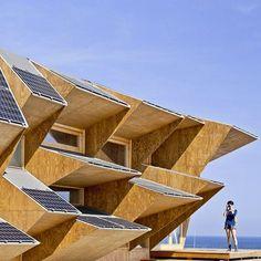 Pour la Smart City Expo de Barcelone, l'IAAC ( Institute for Advanced Architecture of Catalonia) a créé l'Endesa Pavilion.