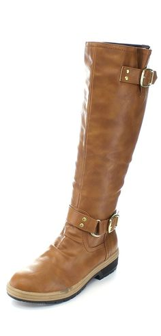 MARK MADDUX NEWTON-03 Women's Fashion Ankle Strap Knee High Riding Boots *** This is an Amazon Affiliate link. Find out more about the great product at the image link.