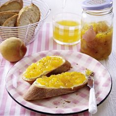 Nektarinen-Pfirsich-Konfitüre Rezept