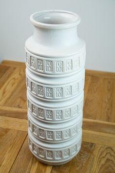 West German Large Floor Vase by Scheurich (form Circa click now for more info. Clay Vase, Ceramic Vase, Large Floor Vase, Large Vases, Floor Vases, Big Vases, Art Nouveau, Vase Design, Décor Antique