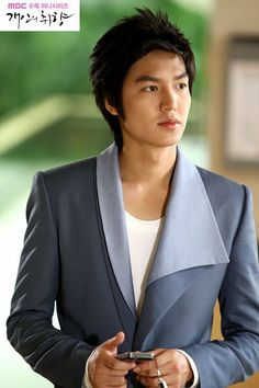 lee min ho in personal taste kdrama...love the collar design