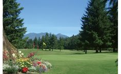 Fall City WA - Snoqualmie Falls Golf Course.  Lowest score I shot = 78. (Yes it was 18 holes.)