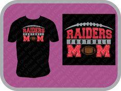 f2219bb1 Football mom shirt by PrettyLilDivas on Etsy Football Mom Shirts, Sports Mom,  Spirit Wear