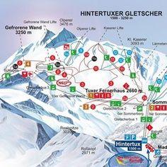 Skiing at Hintertux in Austria