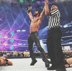 Nuevo campeón Intercontinental. Seth Rollins !! Wrestlemania 34 Dick27Ambrose