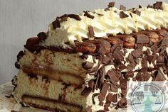 advocaat – lange vingertaart Dutch Recipes, Baking Recipes, Sweet Recipes, Cake Recipes, Dessert Recipes, Baking Bad, Delicious Desserts, Yummy Food, Savarin