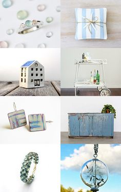Spring dreams by MissMayo on Etsy--Pinned with TreasuryPin.com #lightblue #spring #gifts #forthehome #etsy