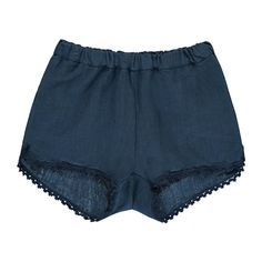 Babe and Tess Stripe Linen Shorts-product