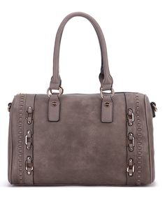 Another great find on #zulily! MKF Collection | Khaki Buckle-Accent Satchel by MKF Collection #zulilyfinds