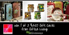 Win a $250 Gifted Living gift card from FatWallet: http://www.fatwallet.com/blog/gifted-living-giveaway/