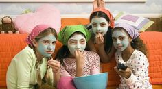 Girls Spa Party Ideas | ... to make a plan for your activities. Some fun slumber party ideas are