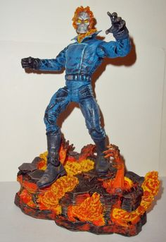 marvel legends GHOST RIDER marvel select complete toy biz universe toy biz Hasbro action figure for sale in online store.