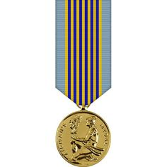 Airmans Anodized Miniature Medal for Heroism
