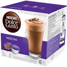 Nescaf Dolce Gusto Mocha Pack of 4 4 x 16 Capsules 32 Servings -- For more information, visit image link.  This link participates in Amazon Service LLC Associates Program, a program designed to let participant earn advertising fees by advertising and linking to Amazon.com.