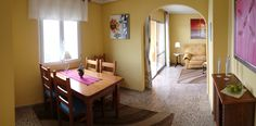 The dining room has space for 6-8 persons without any lack of space. www.wonderful-calpe.webs.com