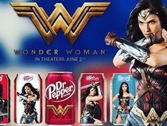 Dr. Pepper Releases WONDER WOMAN-Themed Cans. #drpepper #soda #dc #dccomics #wonderwoman #galgadot #entertainment #hollywood #losangeles #newyork #chicago #dallas #houston #sandiego #sanjose #atlanta #sanfrancisco #sandiego #sandiegoconnection #sdlocals #sandiegolocals - posted by Nerd Informants https://www.instagram.com/nerdinformants. See more post on San Diego at http://sdconnection.com
