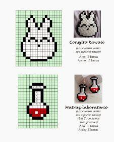 Anime Hama Beads Pattern post by wememade Perler Beads, Perler Bead Art, Fuse Beads, Pearl Beads Pattern, Hama Beads Patterns, Beading Patterns, Beaded Cross Stitch, Cross Stitch Patterns, Pixel Crochet Blanket