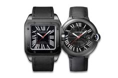 Cartier Santos 100 Carbon And Ballon Bleu Carbon Watch Bullet Jewelry, Geek Jewelry, Gothic Jewelry, Jewelry Design, Designer Jewelry, Cartier Santos 100, Cartier Panthere, Pendant Jewelry, Jewelry Necklaces