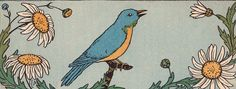 One day bluebird told Alice an old, old story by katinthecupboard, via Flickr