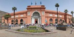 The egyptian museum in Cairo Egypt
