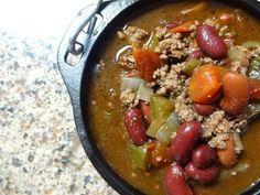 Chocolate Chili : olives-n-okra