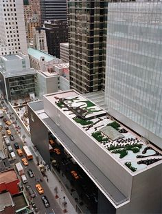 The roof of the Museum of Modern Art    ...BTW, check this out…