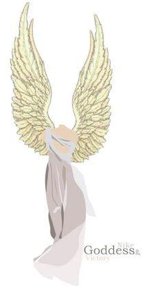 Nike Goddess Tattoo Designs Nike goddess of victory by