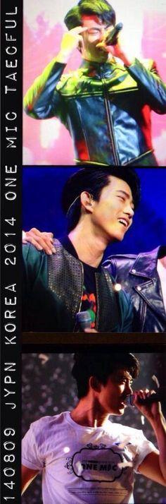 140809-10 JYP NATION 2014 ONE MIC