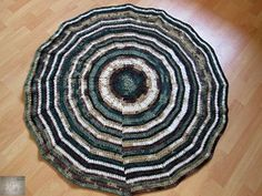 Soft and super practical rug was born.in my daughter's room. So I think it's the best place where we can use this rug. If it will be dusty I just take out the rug… Daughters Room, Ana White, Green And Brown, Animal Print Rug, Kids Room, Things To Think About, Rugs, Crochet, Farmhouse Rugs