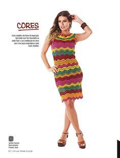 Revista Círculo Moda Crochê