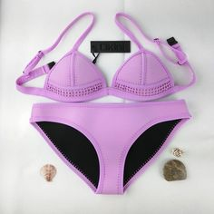 You know you want me, Just BUY ME already! Item Type: Bikinis Set Pattern Type: Solid Waist: Low Waist Gender: Women Brand Name: CIKINI Material: Neoprene Support Type: Wire Free Fit: Fits true to siz