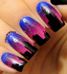 Skyline Sunset 31 Day Challenge, My Nails, Nail Polish, Skyline, Nail Art, Finger Nails, Nail Polishes, Polish, Nail Arts