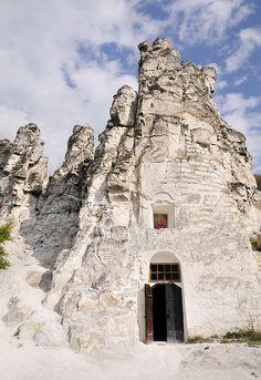Kostomarovo - the complex of cave temples of 17th century, Divnogorie, Voronezh, Russia.