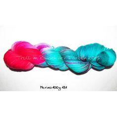100g handgefärbte Wolle Mit chemischen Säurefarben auf wuderbar weiche Merino Superwash gefärbt.100% Wolle420m/100gempf. Nadelstärke: 2,0 - 3,5Trotz gründl