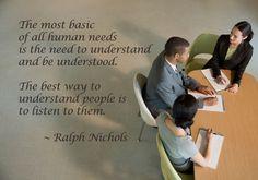 Listen.  #leadership