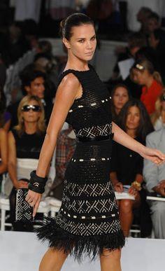 crochelinhasagulhas: Black dress