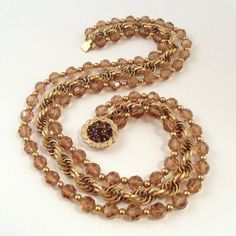 Vintage Napier Triple Strand Necklace with by SweetLenasRetro, $64.00
