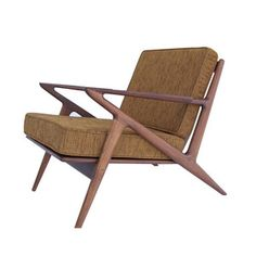 Palm Springs Lounge Chair in Honey Almond