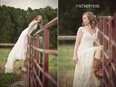 country bridal portrait ideas - Google Search