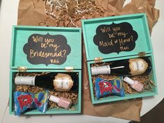 How to Make DIY Bridesmaid Proposal Boxes - According to Ali | Personal Lifestyle Blog