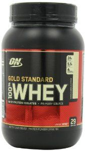 Optimum Nutrition 100% Whey Gold Standard, 2 Pound List Price: $39.55 Price: $27.99  & FREE Shipping. Details You Save: $11.56 (29%) Flavor: Rocky Road       Packed with whey protein isolates     Fast-Acting hydrowhey whey peptides     Provides whey protein microfractions